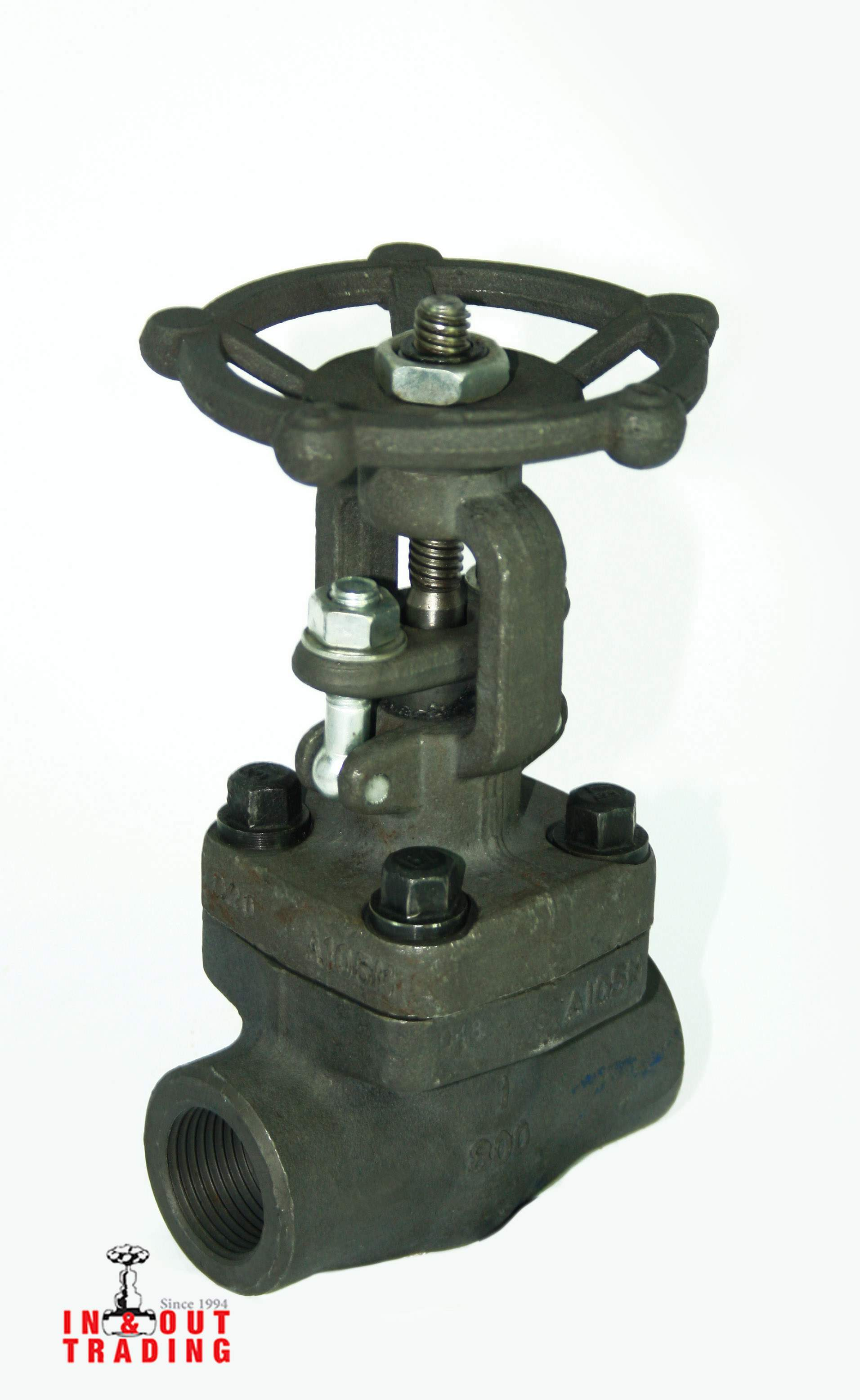 'ANIX - A105 FORGED STEEL GLOBE VALVE 800PSI'