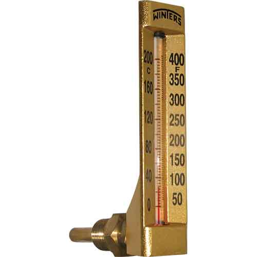 TAG HVAC GOLD CASE THERMOMETER